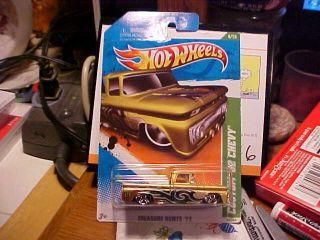 2011 Hot Wheels Treasure Hunt 4 Custom 62 Chevy Truck