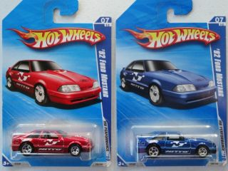 2010 Hot Wheels 92 Ford Mustang 105 240 2 Lot