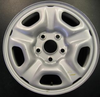 2005 2012 Factory 5 Spoke Silver Steel Wheel Rim 15x6 A 69457