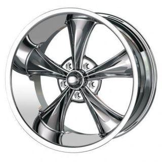 CPP Ridler Style 695 Wheels Rims 17x7 5x4 5 Chrome 338 Style