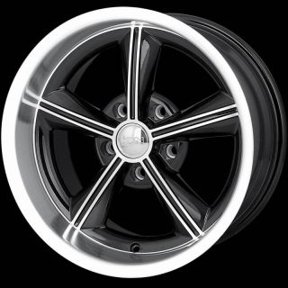 ALLOY GMC BLAZER JIMMY S10 SONOMA BLACK MACHINED 5X4 75 WHEELS RIMS