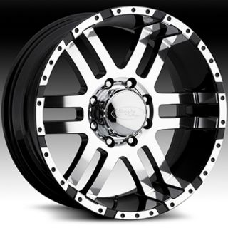 American Eagle 079 Wheels Rims 17x9 Fits Chevy GMC Duramax 2500