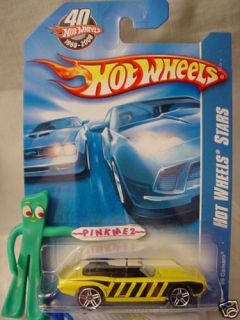 2008 I 40th Hot Wheels 69 Camaro 97 Bee Yellow Black