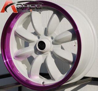 15x7 Rota RB Wheels 4x100 Rims Fits 4 Lug Acura Integra 1986 2001