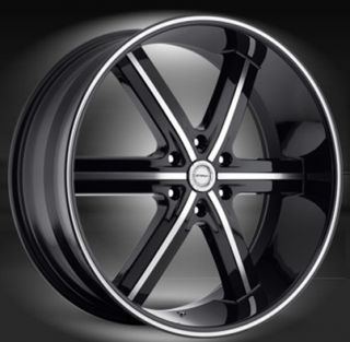 24 inch Strada Spago Wheels Escalade Chevy Ford