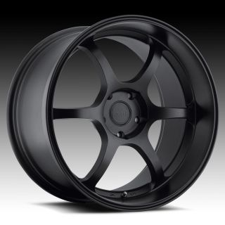 19 Euro Tek UO05 Black Rims Wheels Nissan 350Z Infiniti G35 Coupe Ford