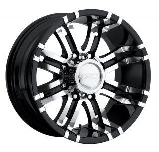 CPP Eagle 197 wheels rims, 17x9, fits: CHEVY GMC SILVERADO 2500 2500HD