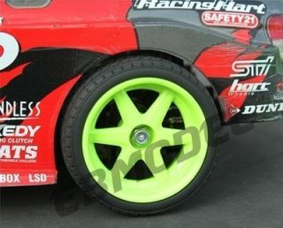RC 1 10 Car on Road 2074G Drift 6mm Offset Wheel Rim HPI Tamiya