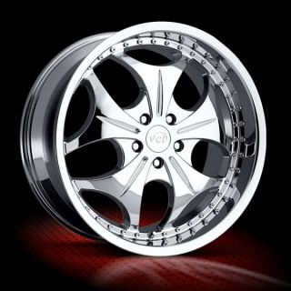 20 inch VTC Sabatini Wheels Nice Chrome Rims