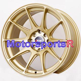 25 XXR 527 Gold Concave Rims Wheels Stance 4x114 3 89 Nissan 240sx S13