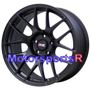 XXR 530 Flat Black Concave Wheels Rims 5x114 3 08 Acura TL Type S TSX