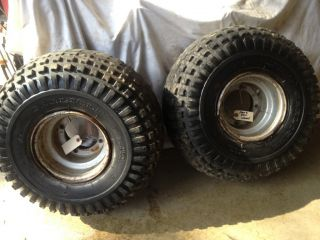 ATC Honda 200S Wheels Rims Tires Carlisle 22 x 11 8 with Tubes See