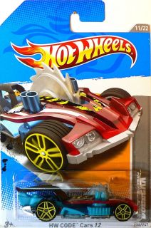 Hot Wheels HW Code Cars 12 Buzzerk E Case