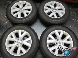 Four 11 12 Nissan Murano Factory 18 Wheels Tires Rims 62562