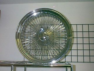 20 150 Spoke Lowrider Wire Rims Chrome Wheels 22 24