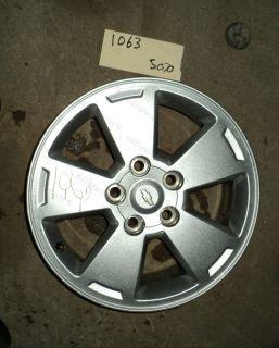 06 11 Impala Monte Carlo Aluminum Wheel 16x6 1 2 Chevrolet 5 Slot Rim