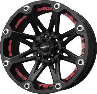 18 inch Ballistic Jester Black Wheels Rims 5x150 12 Toyota Tundra