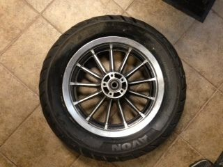 HARLEY DAVIDSON REAR 13 SPOKE RIM WHEEL TIRE 2000 DYNA LOWRIDER FXDL