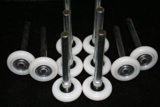 Garage Door Rollers Wheels 10 Nylon 13 Ball Bearing