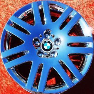 NEW 18 BMW 745I 745LI 750I 750LI 760I OEM E65 CHROME WHEELS RIMS 59394