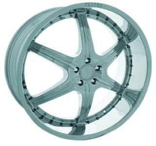New Price 26inch Rims and Tires Wheels Chrome Player 814 Complete