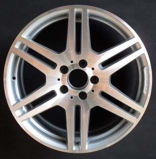 10 11 Mercedes AMG E350 E550 18 6 Double Spoke Factory OEM Wheel Rim H