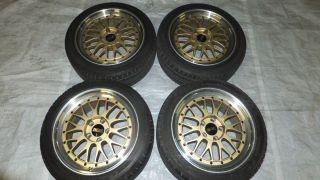 JDM 17 inch BBs LM Rims Wheels 5x114 3 17x8 9 45 JWL s14 S2000 RX7
