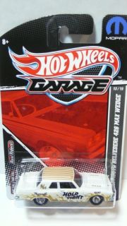 2011 Hot Wheels Garage 63 Plymouth Belvedere 426 Max Wedge 13 15