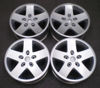 9074 Jeep Wrangler Rubicon 17 Factory OE Alloy Wheels Rims