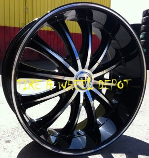 24 inch V15 Rims Wheels Tires Le Sabre Park Ave Cadillac cts STS DTS