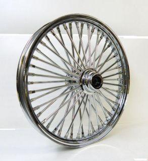 Fat Spoke 21 Front Wheel Chrome 21 x 3 5 Harley FLHT FLHTC Electra
