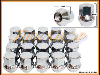 12 Camaro 20 Gorilla Stock Wheels Lug Nuts 14x1 5 M14 1 5 Acorn Rims