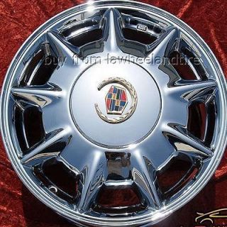 NEW 16 CADILLAC DEVILLE SEVILLE CTS STS DTS CHROME WHEELS RIMS 4528