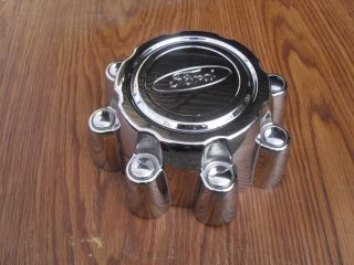 Ford F250 F350 Excursion Wheel Center Cap Hubcap Chrome