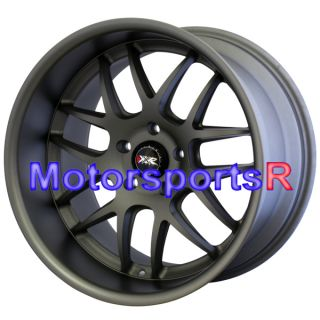 18 XXR 526 Flat Gun Metal Staggered Wheels Rims 5x114 3 99 04 Ford