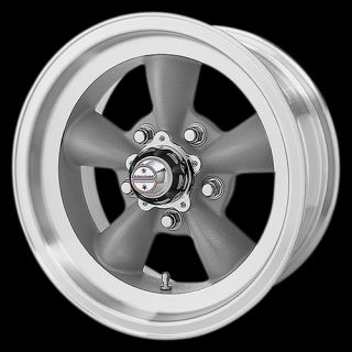 AMERICAN RACING TORQ THRUST D CAMARO CHEVELLE NOVA GRAY RIMS WHEELS