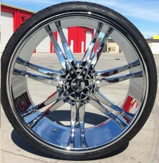 24 inch BW 14 Rims Tires Charger Magnum Chrysler 300