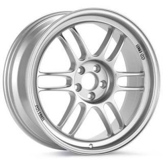 17 Enkei RPF1 Silver Rims Wheels 17x9 35 5x114 3 Civic RSX