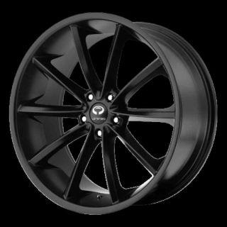 18 Wheels Rims Lorenzo WL32 Black RDX Edge Escape CRV