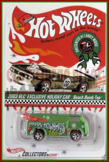 Hot Wheels Holiday Car Beach Bomb Too