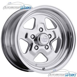 15x8 Vision Sport Star 5x114.3 5x4.5 0mm Polished Wheels Rims Inch 15