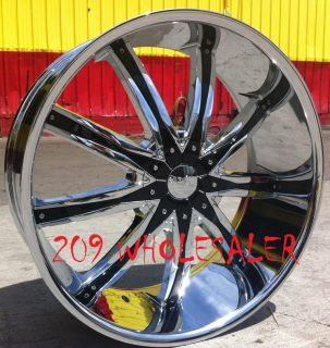 30 inch DW29 Rims and Tires Silverado Escalade Avalanche Suburban