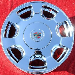 Set of 4 New 16 Cadillac DeVille Chrome Wheels Rims Seville DTS cts