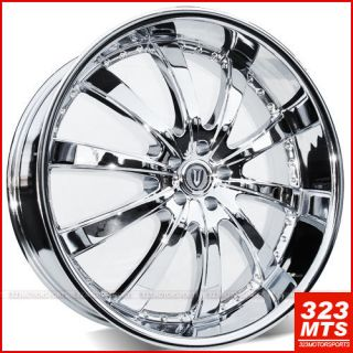 24 Inch Rims Wheels VERSANTE VE219 CHRYSLER 300C DODGE MAGNUM FORD