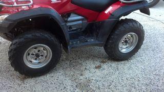 09 Honda Rincon TRX680FA Rear Wheels Rims Tires 25 10 12