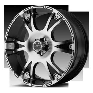 RACING AR889 889 DAGGER BLACK YUKON H2 SILVERADO SIERRA WHEELS RIMS