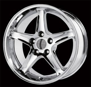 17 Mustang Cobra R Wheels Chrome 5 Lug 5x4 5 ET24 Set