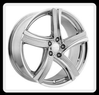 Flite 5x115 Impala SS Charger Alero Magnum Chrome Wheels Rims