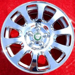 New 17 Jaguar XJ8 S X Type S Type Factory OEM Chrome Wheels Rims 59745