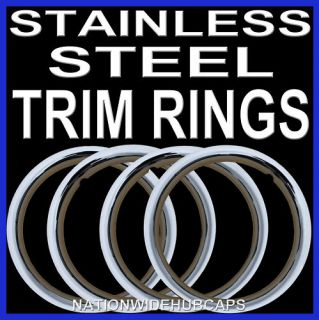 Steel Wheel Trim Rings Beauty Rims Glamour Ring Rim Bands